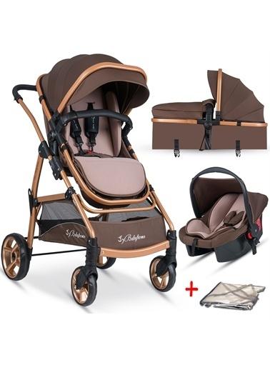 Baby Home Baby Home Bh-855 Mix  Travel Sistem Bebek Arabası Kahve